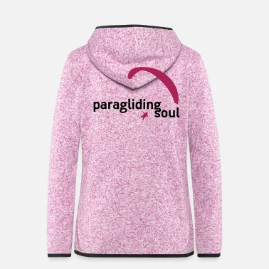 Soul paragliding soul - Women's Hooded Fleece Jacket