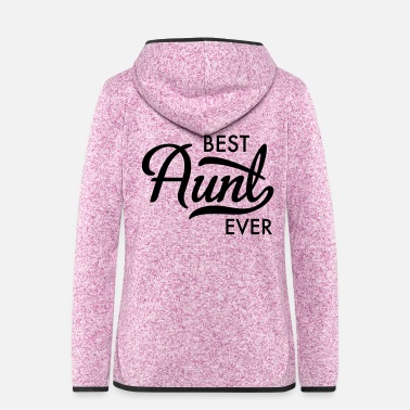 Aunt aunt - Women's Hooded Fleece Jacket