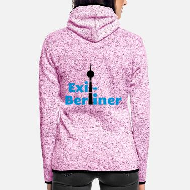 Berlin Berlin - Berlin-exile - Women's Hooded Fleece Jacket