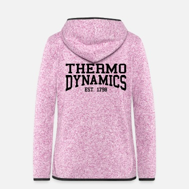 Graf Thermodynamik - Est. 1798 (Over-Under) - Frauen Fleece Kapuzenjacke
