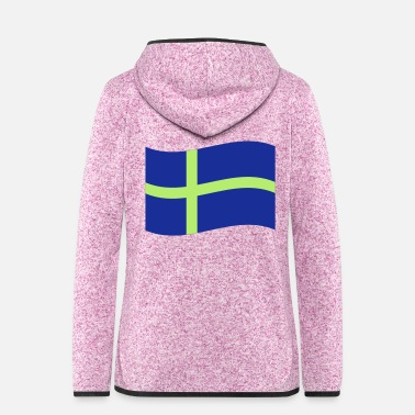 Sweden Sweden - Women's Hooded Fleece Jacket