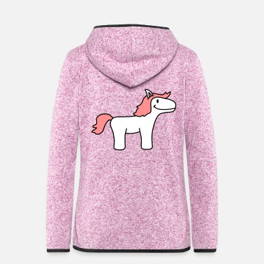 Pony Pony - Women's Hooded Fleece Jacket