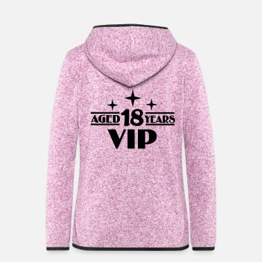 Vip 18 - Frauen Fleece Kapuzenjacke
