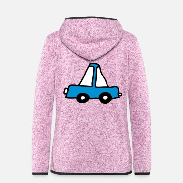 Drive Go By Car auto_3c - Women's Hooded Fleece Jacket