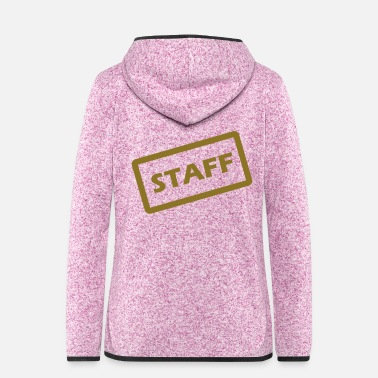 Staff staff - Frauen Fleece Kapuzenjacke