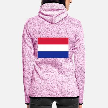 Netherlands Netherlands - Women's Hooded Fleece Jacket