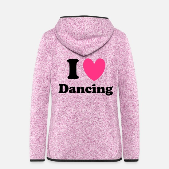 Dance Jackets - Dancing - Women's Hooded Fleece Jacket purple heather