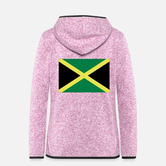 Bandera Jackets - Jamaica - Women's Hooded Fleece Jacket purple heather