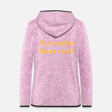 Goa In Goa and there still - Women's Hooded Fleece Jacket