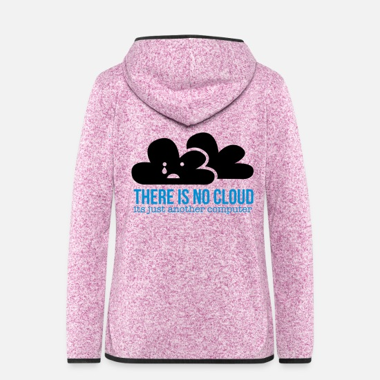 Cloud Jackets - cloud - Women's Hooded Fleece Jacket purple heather