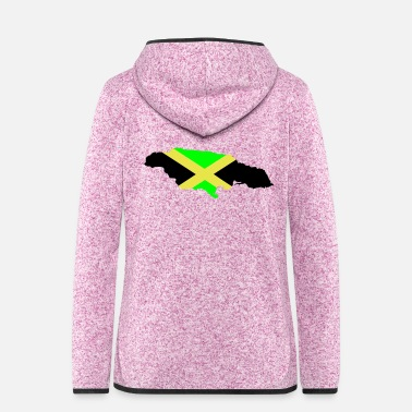Jamaica Jamaica - Women's Hooded Fleece Jacket