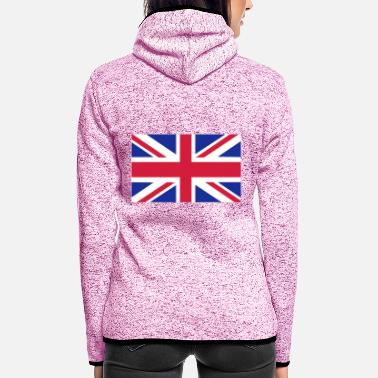 Uk UK - Women's Hooded Fleece Jacket