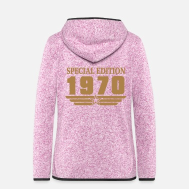 Bday 1970 SpecialEdition - Frauen Fleece Kapuzenjacke