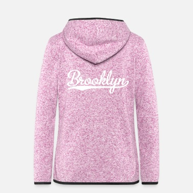 Rap Brooklyn - Women's Hooded Fleece Jacket