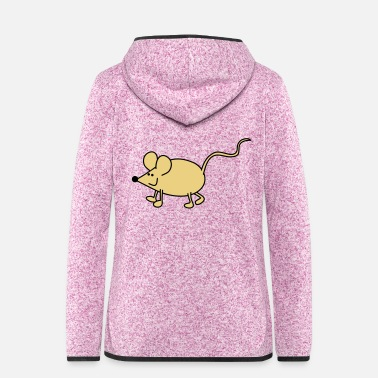 Little Mouse Little mouse - Women's Hooded Fleece Jacket