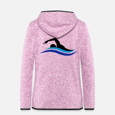 Swimmer swimmer - Women's Hooded Fleece Jacket
