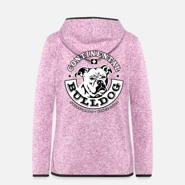 Bulldog Continental Bulldog - Frauen Fleece Kapuzenjacke