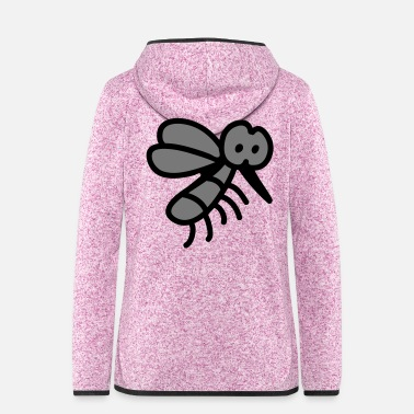 Insect Mosquito - insect - Women's Hooded Fleece Jacket