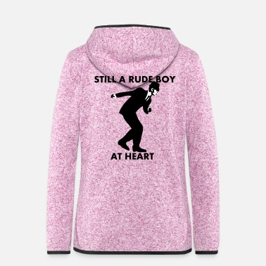 Still A Rude Boy At Heart - Women's Hooded Fleece Jacket