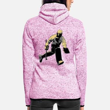 Goalkeeper goalkeeper - Women's Hooded Fleece Jacket