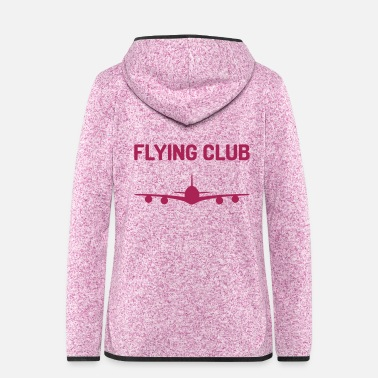Sammenslutning Flying Club (fly) - Hætte-fleecejakke dame