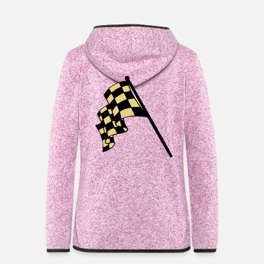 Flag flags - Women's Hooded Fleece Jacket