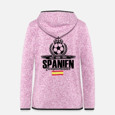European Champion European champions Spain - Women's Hooded Fleece Jacket