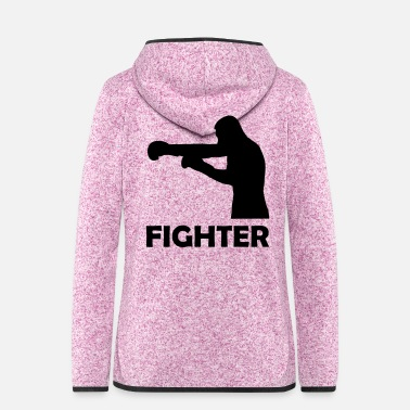 Punch fighter - Women's Hooded Fleece Jacket