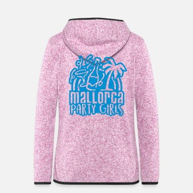 Party Mallorca Party Girls - Women's Hooded Fleece Jacket