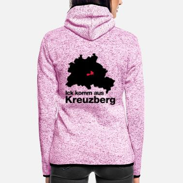 Kreuzberg kreuzberg - Women's Hooded Fleece Jacket