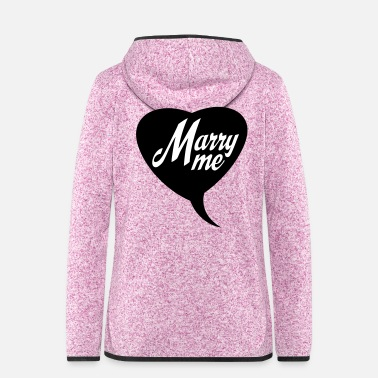 Marry marry - Women's Hooded Fleece Jacket