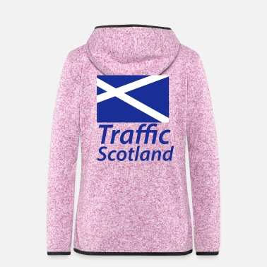 Traffic Traffic Scotland - Women's Hooded Fleece Jacket