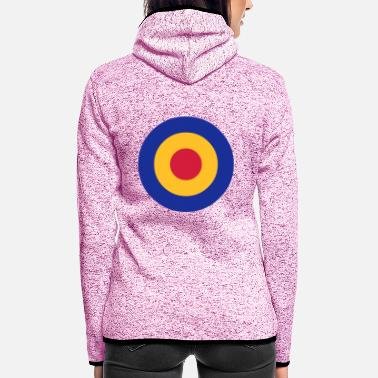 Symbol circles - Women's Hooded Fleece Jacket