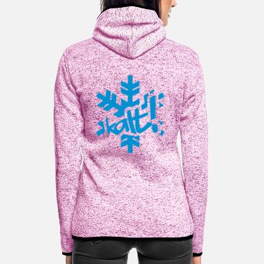 Cold Winter - cold! - Women's Hooded Fleece Jacket