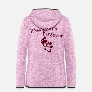 Pawtner's Furever! (Partners Forever) - Dream Team - Giacca di pile con cappuccio donna