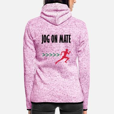 Mateo jog on mate - Women's Hooded Fleece Jacket