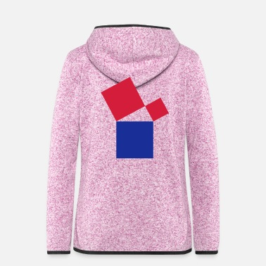 Mathe mathe - Frauen Fleece Kapuzenjacke