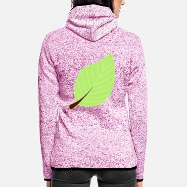 Leaf leaf - Frauen Fleece Kapuzenjacke