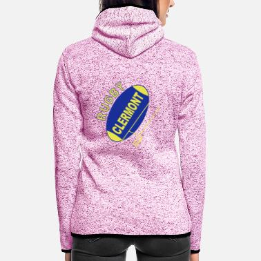 Clermont Rugby Rugby Clermont - Women's Hooded Fleece Jacket