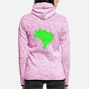 Manaus Brazil - Women's Hooded Fleece Jacket
