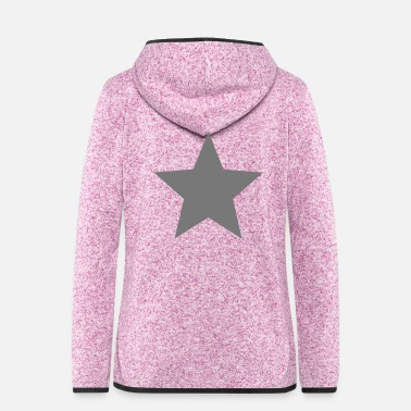 Superstar star - Women's Hooded Fleece Jacket
