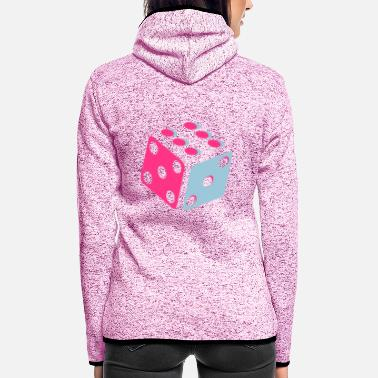 Dice Dice - Dice - Women's Hooded Fleece Jacket
