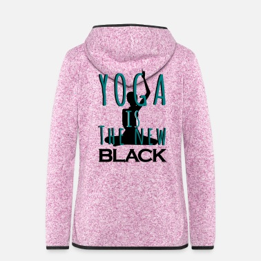 New Age Yoga is the new BLACK - Veste à capuche polaire Femme