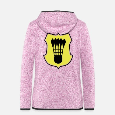 Champ 2541614 15149246 Badminton - Frauen Fleece Kapuzenjacke