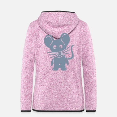 Mouse Mouse - Women's Hooded Fleece Jacket