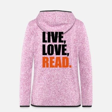 Read read - Women's Hooded Fleece Jacket