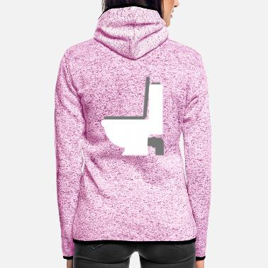 Bathroom toilette - Women's Hooded Fleece Jacket