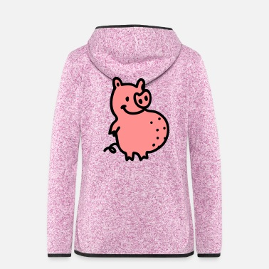 Sow Thickness sow - Women's Hooded Fleece Jacket