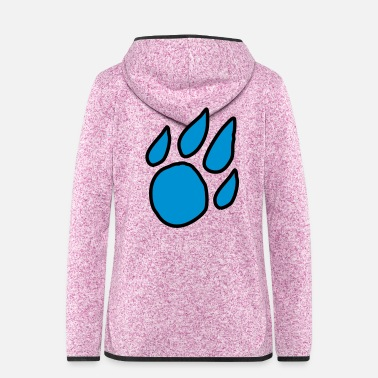 Paw Paw - Women's Hooded Fleece Jacket