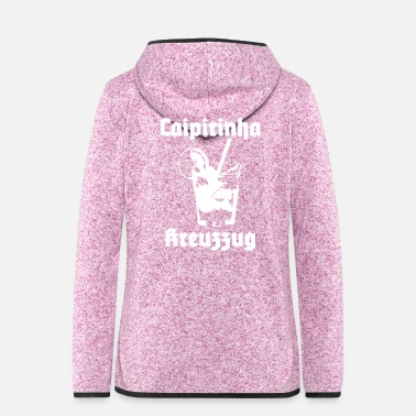 Unbelieving Caipirinha crusade - Women's Hooded Fleece Jacket